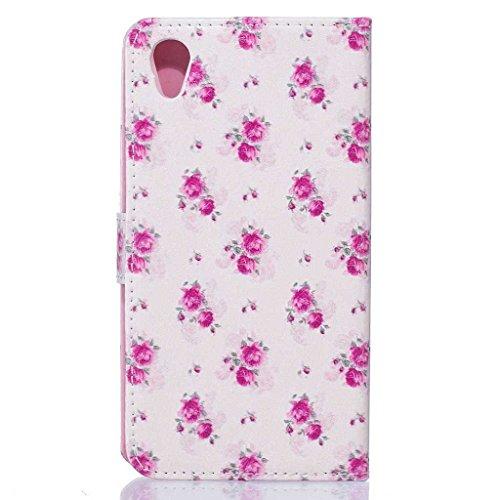 Apple iPod Touch 5th Generation Hülle + [Frei Hartglas Displayschutzfolie], BoxTii Apple iPod Touch 5th Generation Schutzhülle mit Kartenfächern Ständer Funktion Magnetverschluss, Kratzfeste Wickelfal #9 Pink