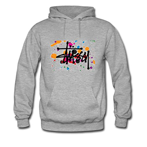 Stussy Customized Classic For boys/girls Printed Sweatshirt Pullover Hoody