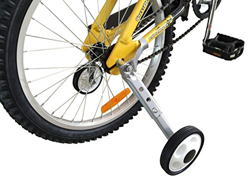 CHILDHOOD Adjustable Variable Speed Bike Training Wheels for Girls Boys 18 to 22 ()