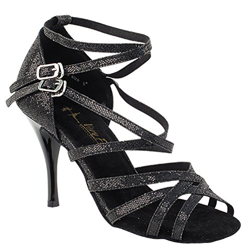 High Women Evening Shoes Tango Scale Shoes Dress Ballroom Black SERA1700 Medium Heel Salsa 5008l Pump Latin Tango Shoes Wedding Swing Dance Pigeon Swing Gold Latin Comfort Party Salsa Party wqZv5PY