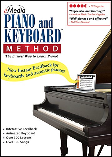 eMedia Piano and Keyboard Method v3 [PC Download] - Emedia Piano Software