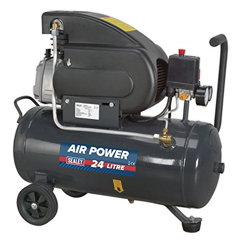 (Sealey SAC2420E 24ltr Direct Drive Compressor 2hp)