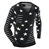 Sweater New Pullover Man V-Neck Autumn and Winter Pull Homme s Ports Sweater Man