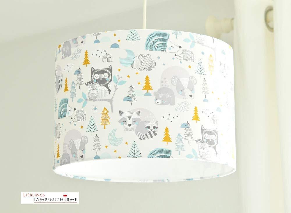 Kinderzimmerlampe Waldtiere für Kinderzimmer und Babys Babylampe