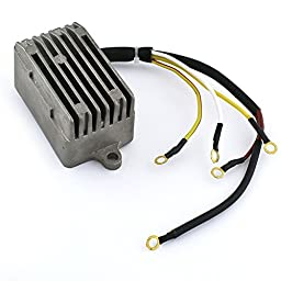 Caltric REGULATOR RECTIFIER Fits OMC JOHNSON EVINRUDE OUTBOARD 70 HP 70HP 3cyl 1992-2001