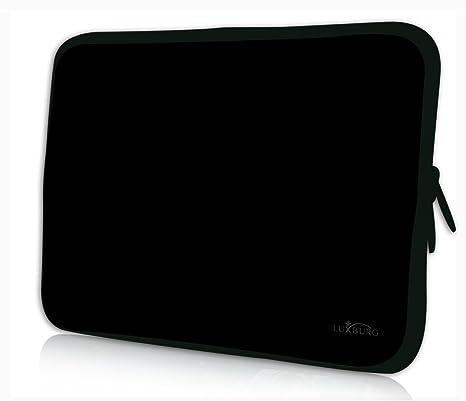 Luxburg® Design bolso funda sleeve carcasa funda protectora de neopreno para tablet o portátil o eBook reader para 8,1 Motivo: negro