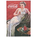Now Designs Coca-Cola Presented by Dishtowel, Evening Gown Coke Girl Print