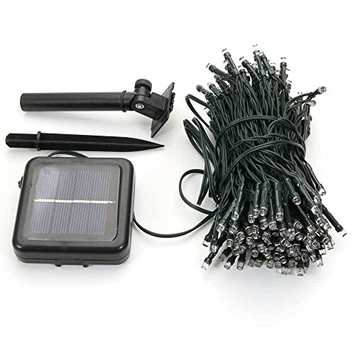Globe Expandable Wallet (Nynoi Solar Powered 100 led String Fairy Lights Garden Outdoor Xmas chrismas Party Lamp muti-color)