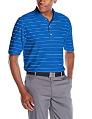 Greg Norman Collection Men\'s ProTek Micro Pique Stripe Polo,...
