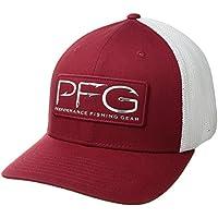 Columbia Men's PFG Mesh Ball Cap (Beet)