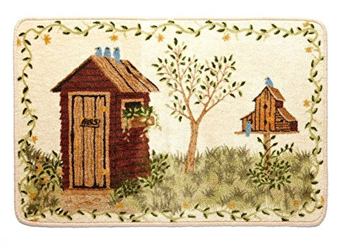 Saturday Knight Outhouses Rug