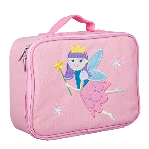 Wildkin Olive Kids Fairy Princess Embroidered Lunch Box