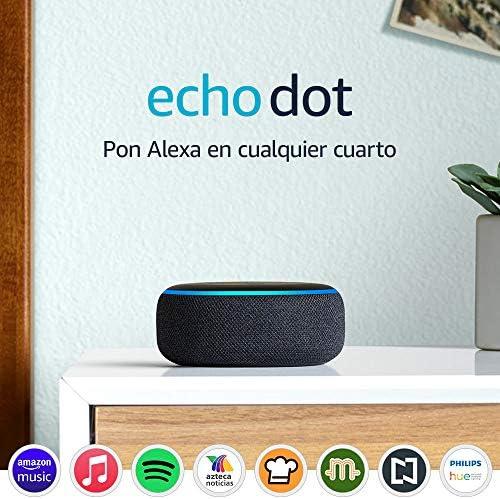 Echo Dot (3ra generación) - Bocina inteligente con Alexa, negro 3