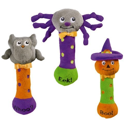 Halloween Toys For Babies (Grasslands Road Bootiful Baby Plush Toy Halloween Squeaker (1)