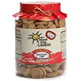 Hawaiian-style Butter Cookies, Bite-sized Chocolate Chip Butter Crunch with Homemade Taste, Small Snacks For Kids and Adults, (30 oz) - School Kine Cookies