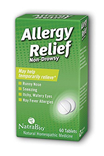NatraBio Allergy Relief Count Pack