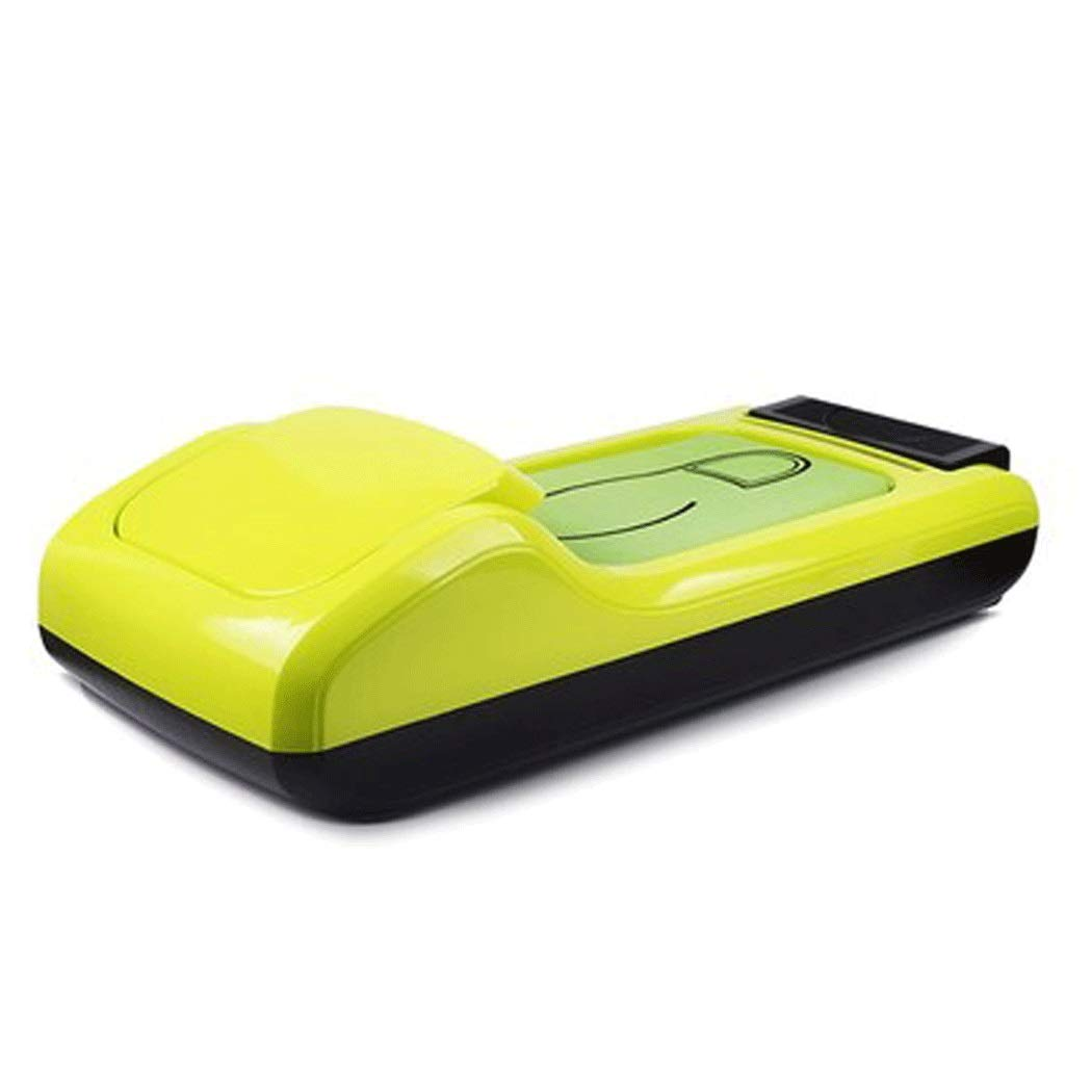 Yongyong Office Household Disposable Shoe Film Machine ABS Anti-Slip Solid Color Shoe Mold Machine to Send Three Rolls of Shoe Film 582610cm (Color : Green, Size : 582610cm)