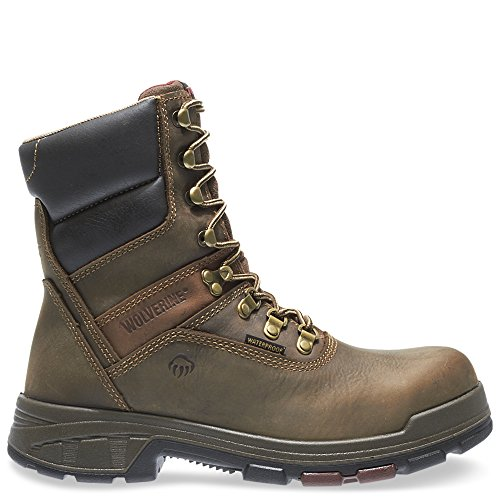 Wolverine Lace Boots - Wolverine Cabor EPX Waterproof Composite Toe 8