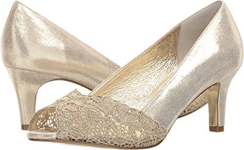 Adrianna Papell Women's Jude Pump Gold Mosaic Lame 5.5 Medium US