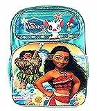 """Backpack - Disney - Moana - w/Maui Blue 16"""" School Bag 118778"""