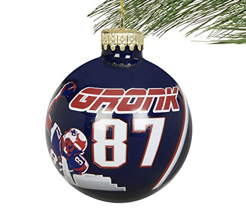 NFL Player Skyline Glass Ball Christmas Ornament-