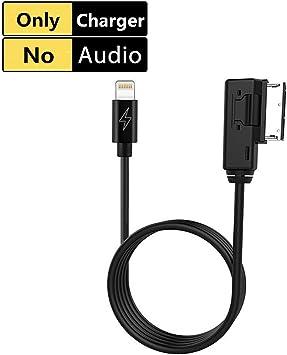Ami Mdi Aux Ladegerät Kabel Kit Für Iphone 7 8 X Ipod Apple Lightning Ladekabel Music Interface Adapter Für Ausgewählte Audi Vw Volkswagen Modelle Charging Cable Audio Hifi