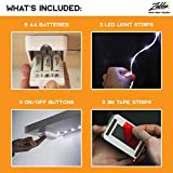 Luminoodle Click AA Battery Powered LED Push Lights