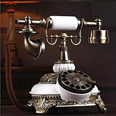 WYJW teléfono, Tocadiscos Retro Antiguo Teléfono Jardín Oficina ...