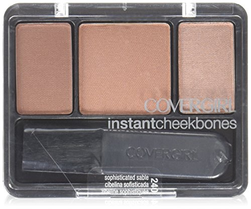 CoverGirl Instant Cheekbones Contouring Blush, Sophisticated Sable .29 oz (8 ()