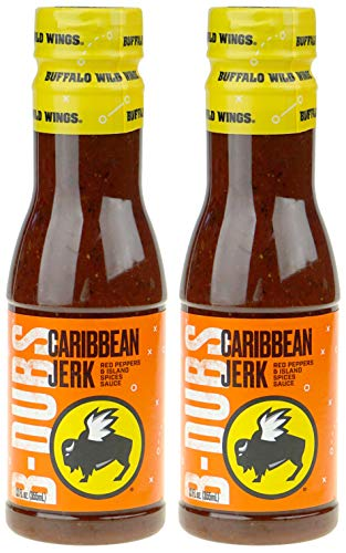 - Buffalo Wild Wings Barbecue Sauces, Spices, Seasonings and Rubs For: Meat, Ribs, Rib, Chicken, Pork, Steak, Wings, Turkey, Barbecue, Smoker, Crock-Pot, Oven (Caribbean Jerk, (2) Pack)
