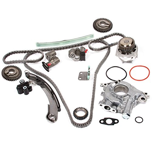 - Evergreen TK3034WOPT Timing Chain Kit, Oil Pump, and Water Pump Fits: 04-09 Nissan Altima Maxima Quest 3.5L VQ35DE