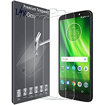 with Adhesive in 100/% Real Glass by Walking Slow-2 Piece Back Camera Glass Lens Cover Replacement Parts with Adhesive for Motorola Moto G6 Play DEEP Indigo