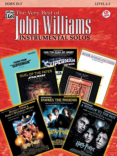 (The Very Best of John Williams: Horn in F, Book & CD)