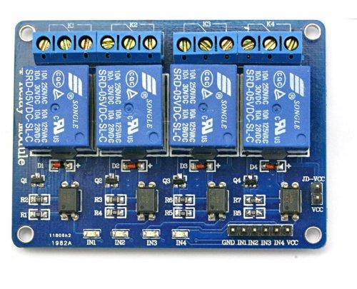 16Hertz Relay Modules (4 Channel)