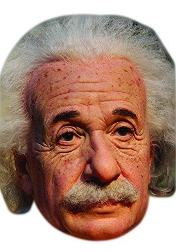 Albert Einstein Celebrity Mask, Card Face and Fancy Dress Mask