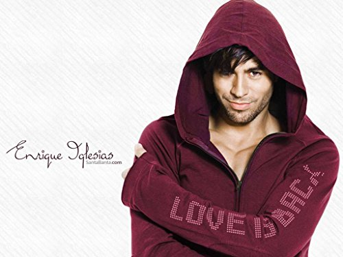(Get Motivation Enrique Iglesias Enrique Miguel Iglesias Preysler singer songwriter actor record producer 12 x 18 inch)