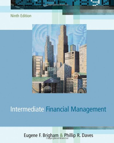 Intermediate Financial Management  With Thomson One   Available Titles Cengagenow