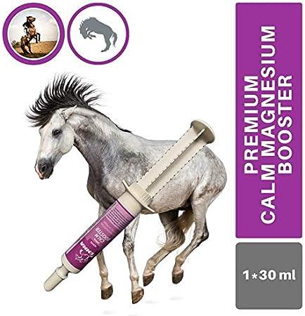 ♥ EMMA Magnesio para caballos I Booster I Alimento complementario para nervios, estrés, ansiedad I Vitaminas para calmar I Triptófano 1 pc