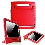 Fintie iPad mini 1/2/3 Kiddie Case - Light Weight Shock Proof Convertible Handle Stand Kids Friendly for Apple iPad mini 1 / iPad mini 2 / iPad mini 3, Red