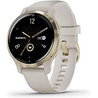 Garmin Uniseks 010-02429-11 Smartwatch, Beżowy/Złoty, 4.04 x 4.04 x 1.21 cm