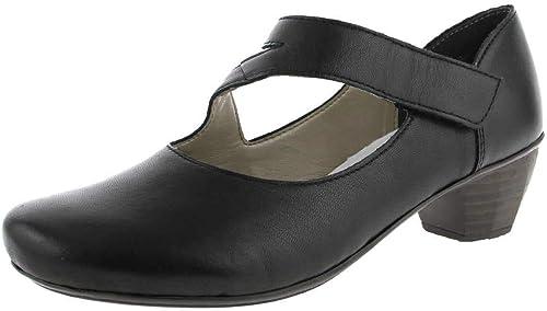TALLA 39 EU. Rieker 41793, Zapatos de Tacón para Mujer
