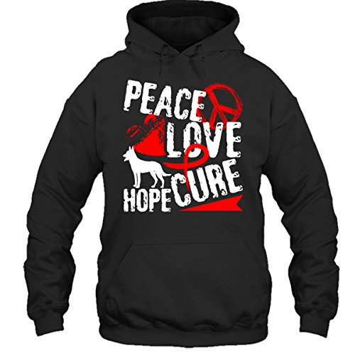Peace And Love Hooded T-Shirt - 9