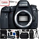 Canon EOS 6D Mark II DSLR Camera (Body Only) – 11PC Accessory Bundle Includes 32GB SD Memory Card + High Speed Card Reader + Soft Padded Medium Carrying Case + Automatic Flash w/ LED Light + MORE Review