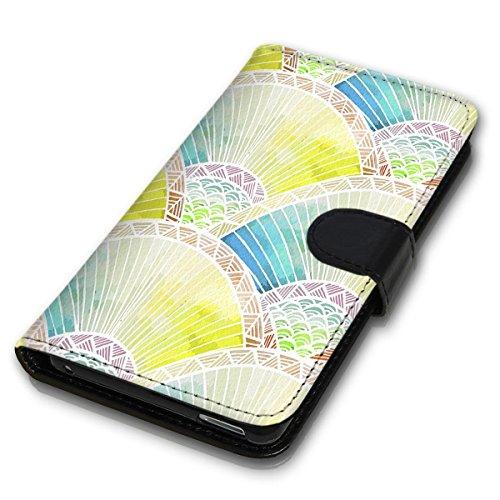 Wallet Book Style Flip Handy Tasche Case Schutz Hülle Schale Motiv Etui für Apple iPhone 5 / 5S - Design Flip MVD34
