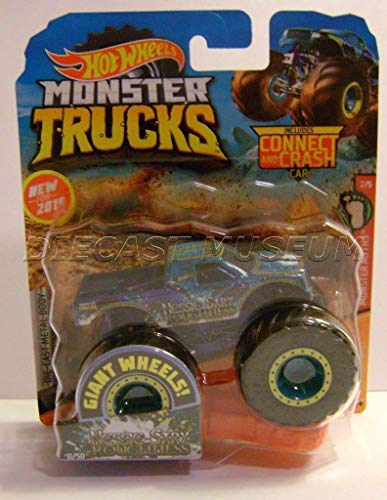 Nessie SARY Roughness W/ Connect Crash CAR Monster Trucks HOT Wheels 2019