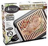 Emson Div Of E Mishon 1618 Gotham Steel Electric Smokeless Grill - Quantity 6