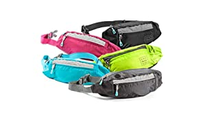 Fanny Packs for Women - Slim Yet Spacious Waist Pack w/ Multiple Compartments and Headphone Cord Access - Lightweight Fannie Hip Bag Great for Hiking, Walking, Biking, Running, Travel, & More
