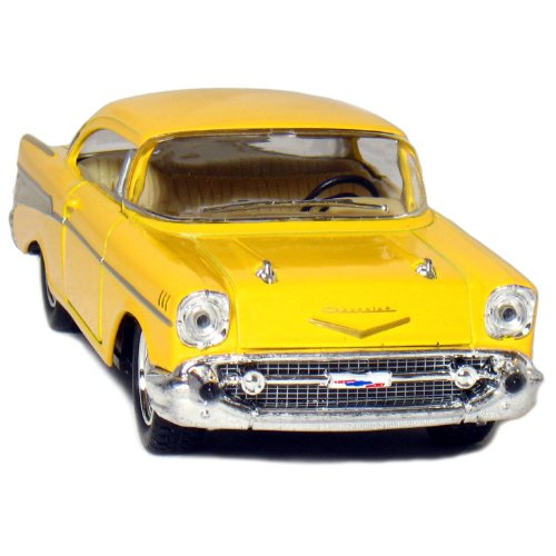 957 1:40 Scale Chevy Bel Air Coupe Vehicle (12 Piece), Black/Blue/Red/Yellow ()