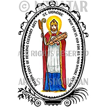 photograph about St Nicholas Prayer Printable named : St Honore Patron Saint of Therapeutic Culinary Arts