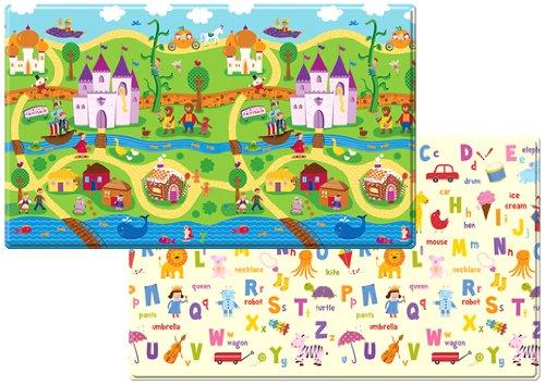 Dwinguler Large Eco-Friendly Kids Play Mats - Designer Collection (FairyLand) by Dwinguler
